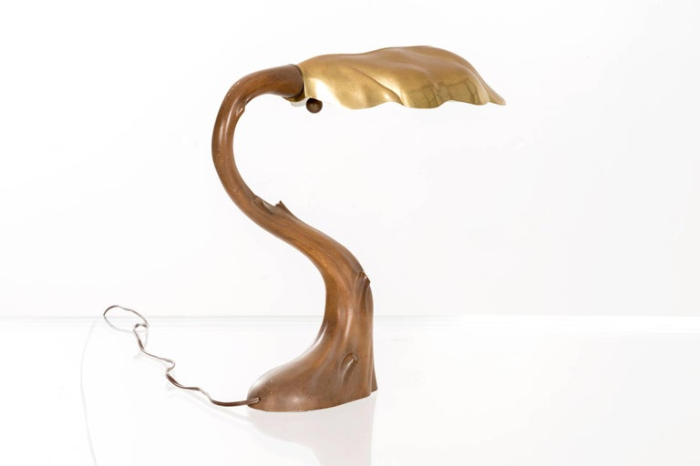 American Chapman in the Style of Gaudi Art Nouveau Lamps For Sale