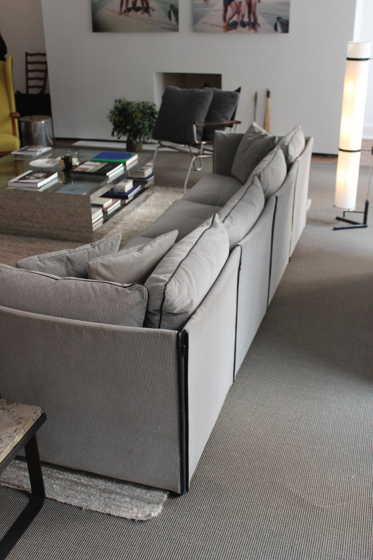 Char-a-Banc Sofa by Mario Bellini for Cassina In Good Condition For Sale In East Hampton, NY