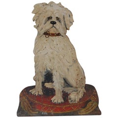 Characterful 19th Century Dog Stick Stand