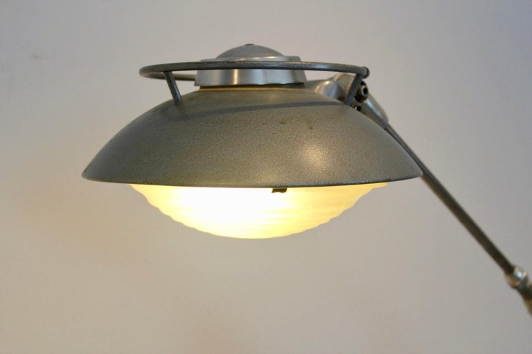 20th Century Characteristic 'Model 219S' Industrial Floor Lamp by Louis Ferdinand Solère For Sale