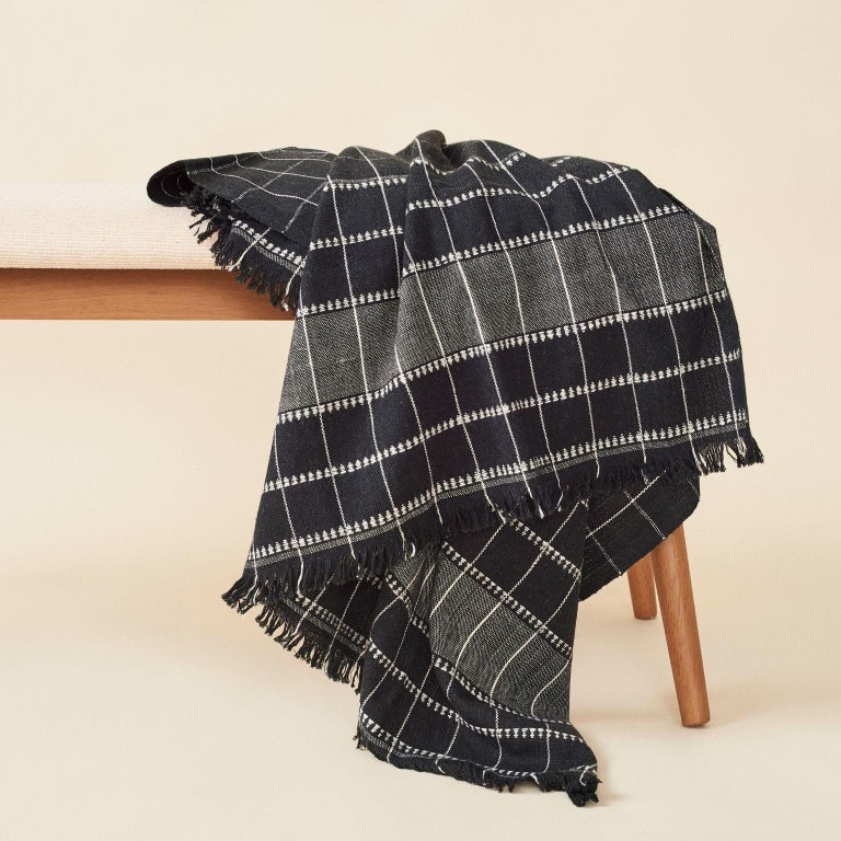 Nepalese Charco Handloom Throw / Blanket For Sale