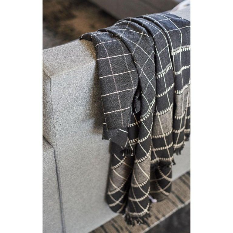 Hand-Woven Charco Handloom Throw / Blanket For Sale