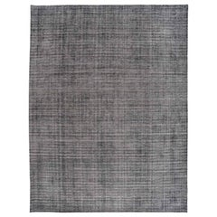 Charcoal Loop and Cut Area Rug