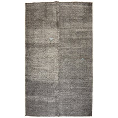 Charcoal Turkish 20th Century Kilim