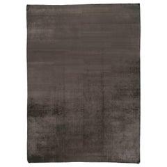Charcoal Wool Area Rug