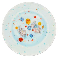 Charger Plate Hand Painted Coralla Maiuri Modern New Tableware