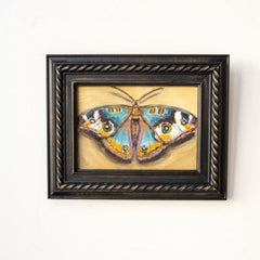 """Contemporary Surrealist Painting, """"Tropical Buckeye Butterfly"""""""