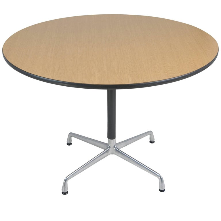 Charles & Ray Eames for Herman Miller Aluminum Group Dining Table, circa 1970