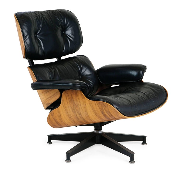 Charles And Ray Eames Lounge Chair And Ottoman For Herman