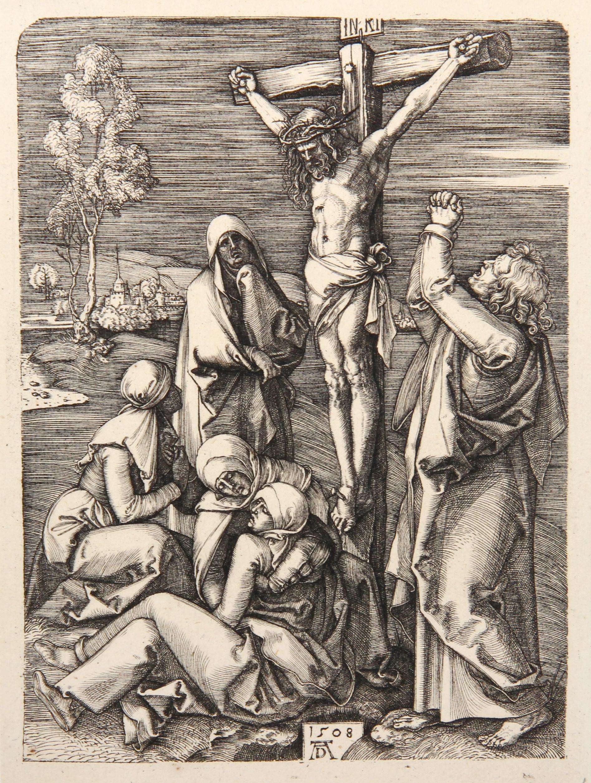 Jesus Christ Expirant sur la Croix etching by Amand-Durand after Albrecht Durer