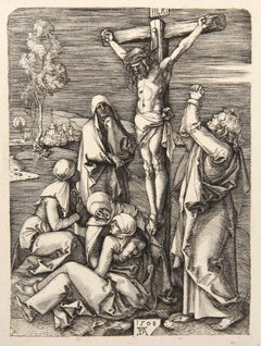 Jesus Christ Expirant sur la Croix etching by Amand-Durand after Albrecht Durer