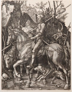 Knight, Death and the Devil by Amand-Durand after Albrecht Durer