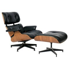 Charles and Ray Eames 670 671 Lounge Chair and Ottoman