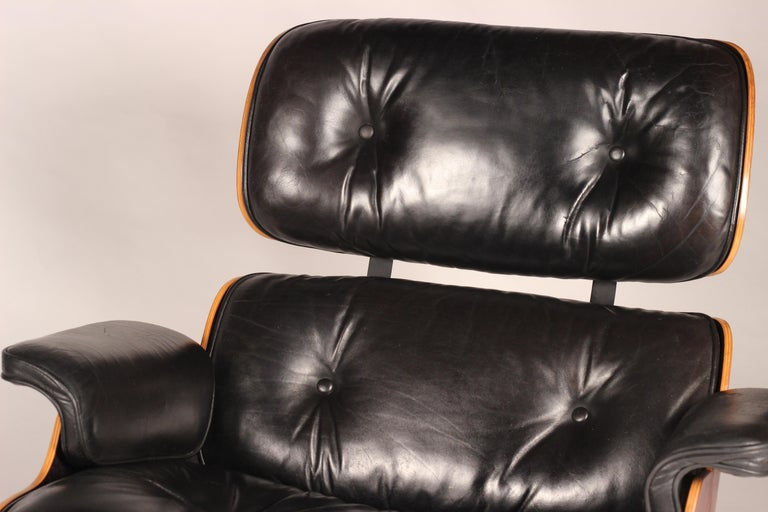 Charles and Ray Eames 670 Rosewood Lounge Chair and 671 Ottoman 4