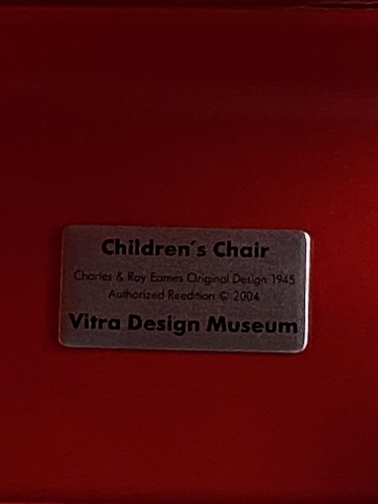 Charles and Ray Eames Children's Chairs, 2004 For Sale 3