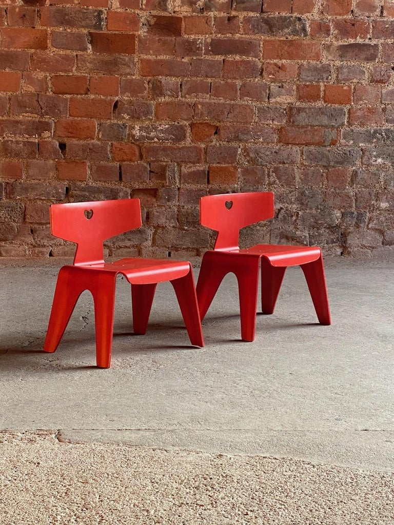 Charles and Ray Eames Children's Chairs, 2004 For Sale 4