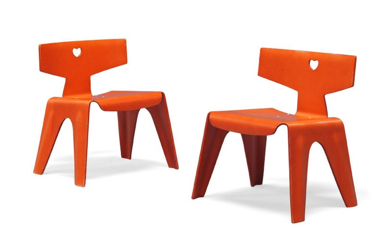 Charles and Ray Eames Children's Chairs, 2004 For Sale 5