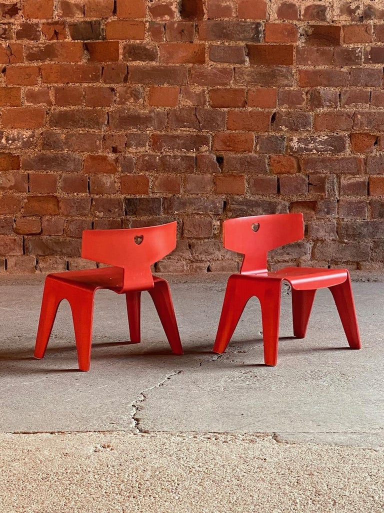 American Charles and Ray Eames Children's Chairs, 2004 For Sale