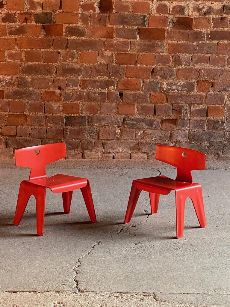 Plywood Charles and Ray Eames Children's Chairs, 2004 For Sale
