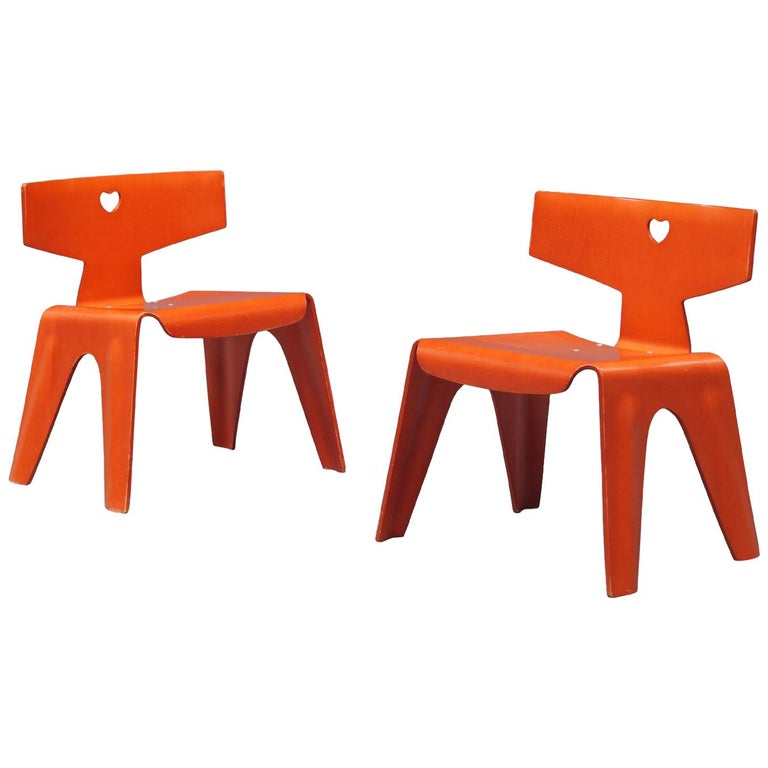 Charles and Ray Eames Children's Chairs, 2004 For Sale