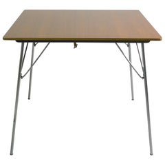 Charles and Ray Eames DTM-2 Wood Top Table, Herman Miller, 1950s