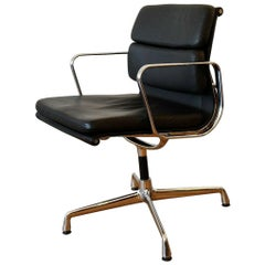 Charles and Ray Eames EA 208 Soft Pad Office Chair for Vitra