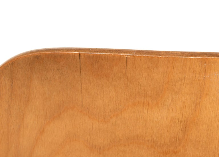 Charles and Ray Eames Early LCW Maple Lounge Chair for Evans Products, 1947 6