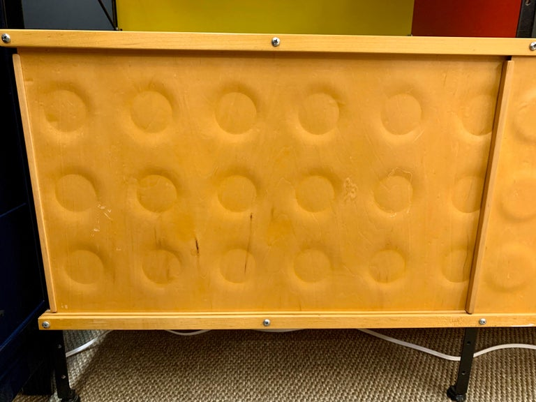 Charles and Ray Eames ESU Storage Unit Shelving Library Étagère Room Divider In Good Condition For Sale In West Hartford, CT