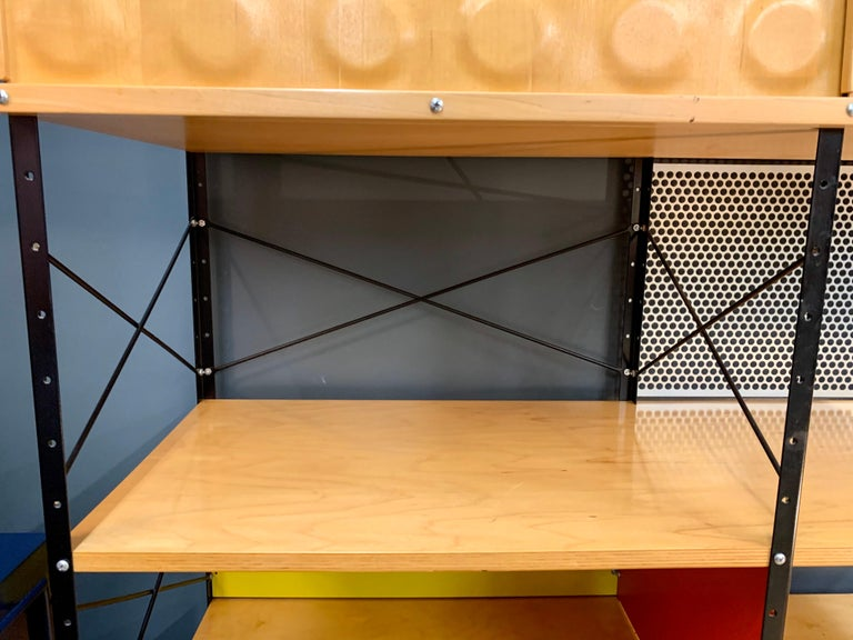 Charles and Ray Eames ESU Storage Unit Shelving Library Étagère Room Divider For Sale 1