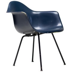 Charles and Ray Eames Experimental Rope Edge DAX Armchair