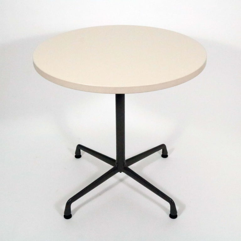 Charles and Ray Eames for Herman Miller Aluminum Group bistro table.