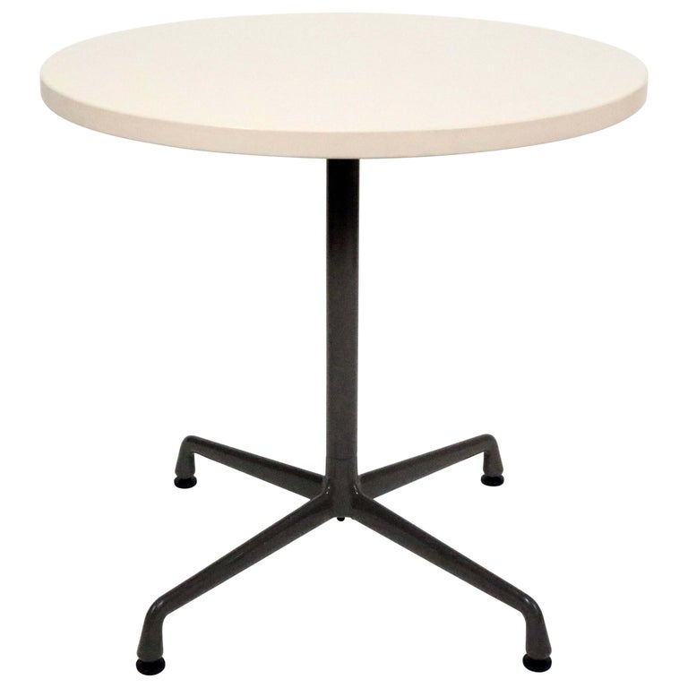Charles and Ray Eames for Herman Miller Aluminum Group Bistro Table For Sale