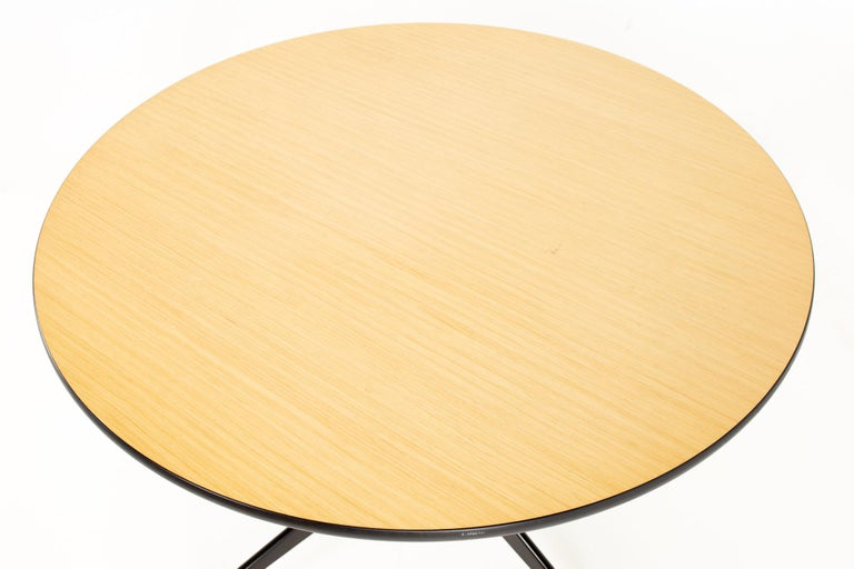 Charles and Ray Eames for Herman Miller Aluminum Group Wood & Black Dining Table For Sale 1