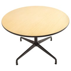 Charles and Ray Eames for Herman Miller Aluminum Group Wood & Black Dining Table