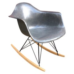 Charles and Ray Eames Gray Zenith Rocker
