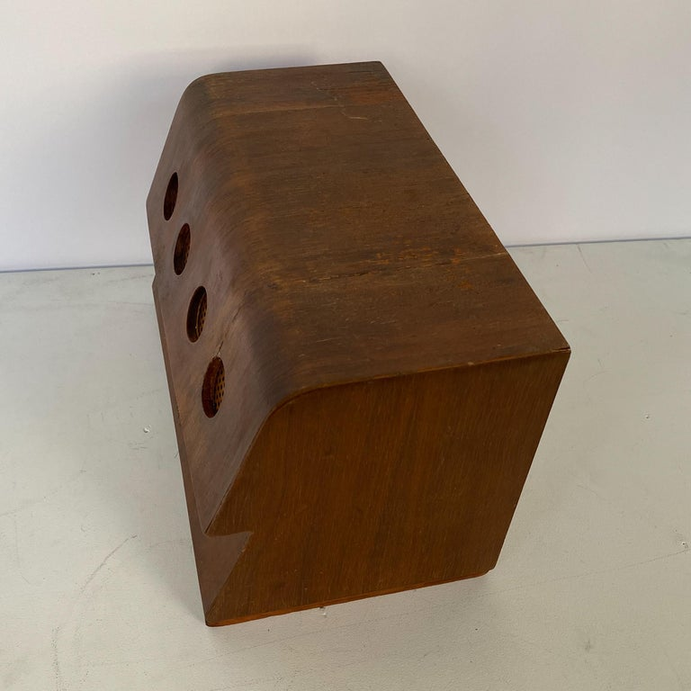 Charles and Ray Eames Molded Plywood Radio For Sale 1
