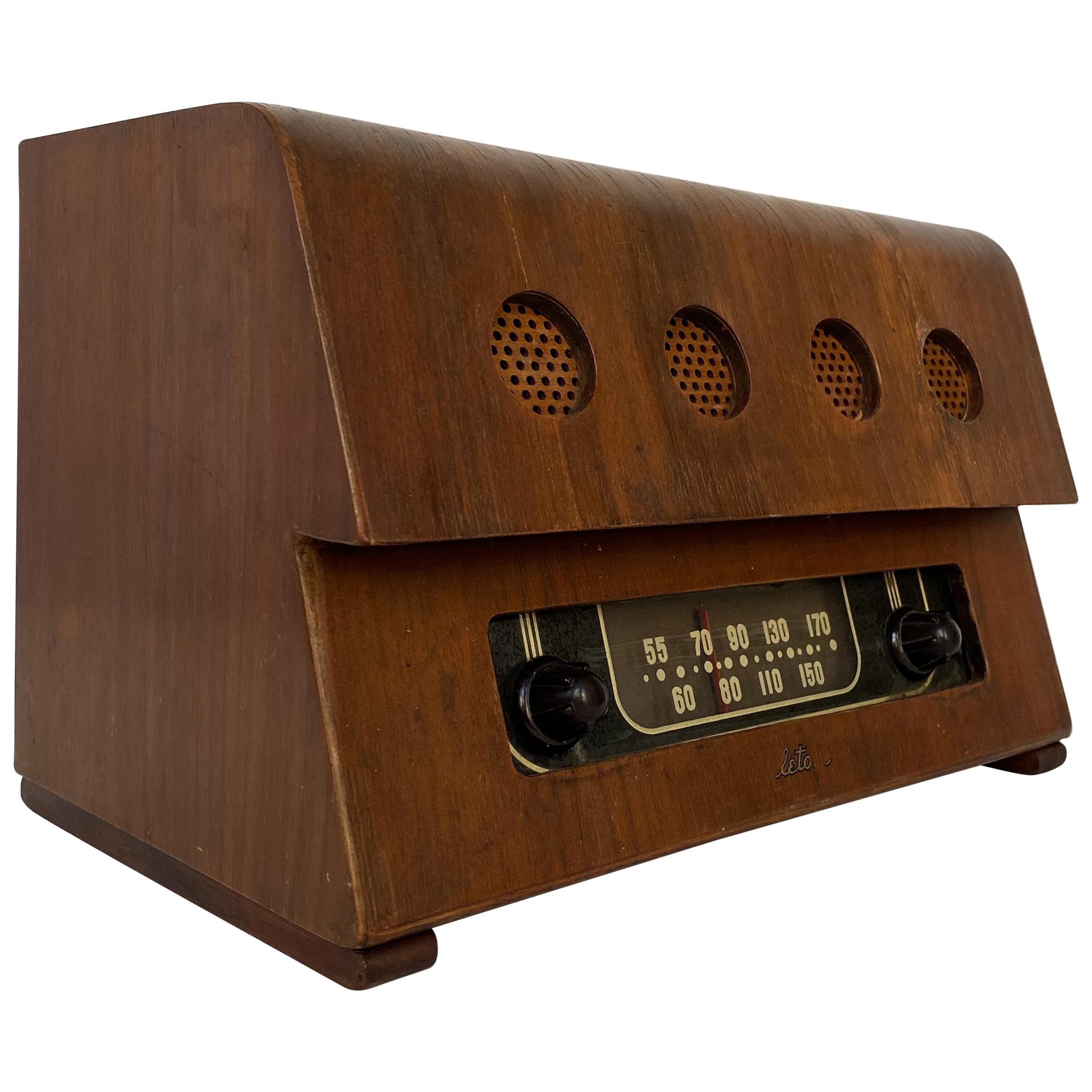 Charles and Ray Eames Molded Plywood Radio