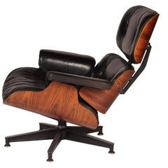 Charles and Ray Eames Rosewood Lounge Chair 670