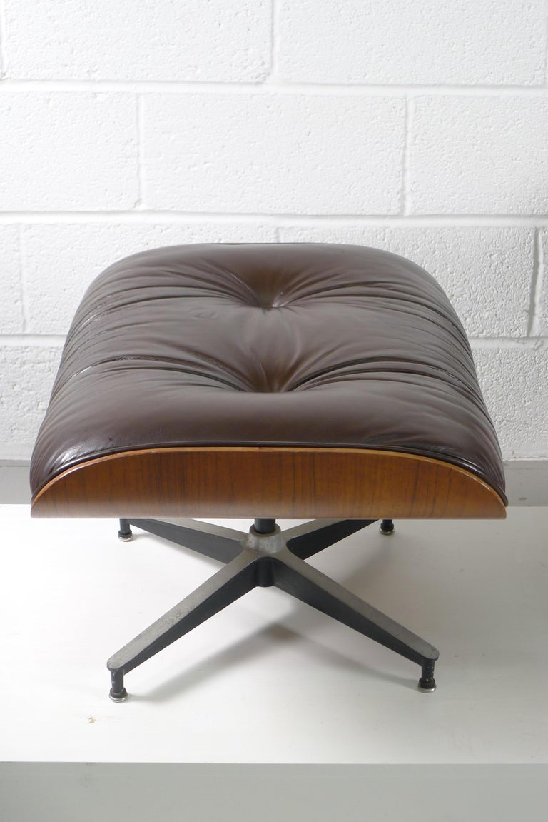 Charles and Ray Eames, Rosewood Lounge Chair and Ottoman, Herman Miller, USA 1