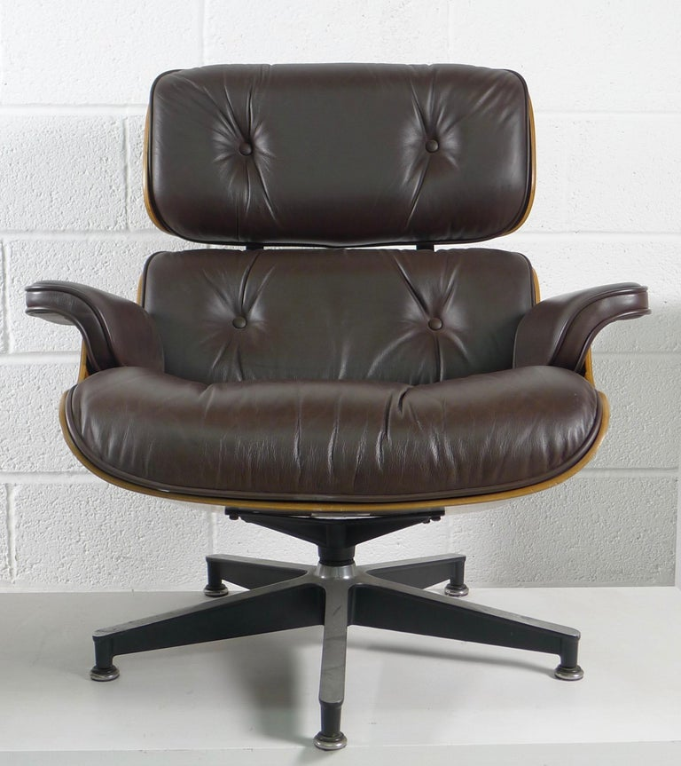 Charles and Ray Eames, Rosewood Lounge Chair and Ottoman, Herman Miller, USA 3
