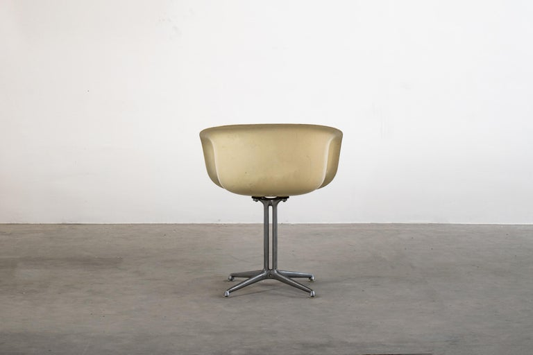 Mid-20th Century Charles and Ray Eames Set of Six Armchairs La Fonda Herman Miller, 1960 For Sale