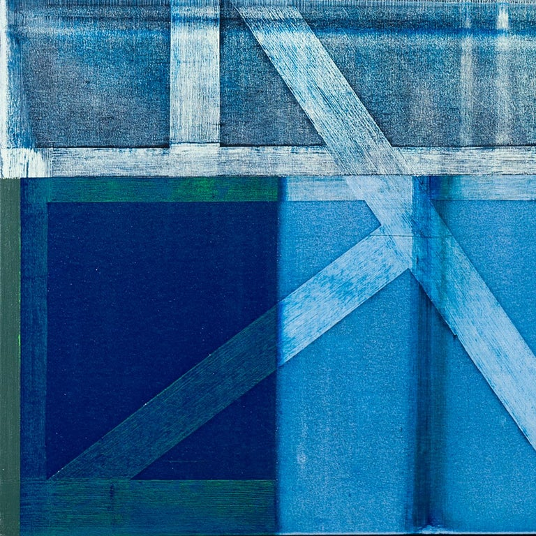 Soriano - Abstract Geometric Painting by Charles Arnoldi