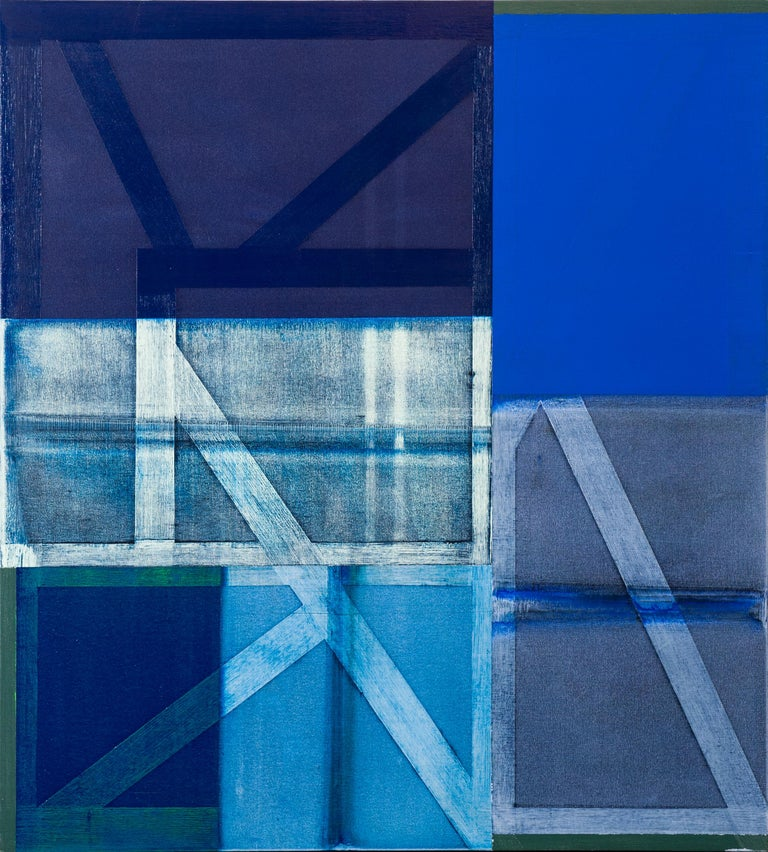 Charles Arnoldi Abstract Painting - Soriano