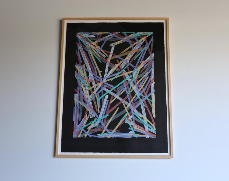 Charles Arnoldi Untitled #58, 1983 In Good Condition For Sale In Costa Mesa, CA