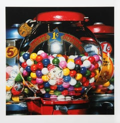 Double Bubble, Photorealist Silkscreen by Charles Bell