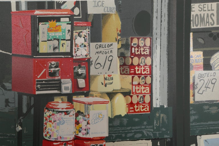 Little Italy, Gumball Machine by Charles Bell 2