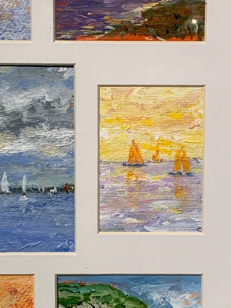 American Impressionist Coastal scenes from the East Coast, USA and Nantucket For Sale 6