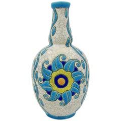 Charles Catteau Boch Freres Keramis Art Deco Vase