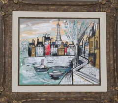 Eiffel Tower, Painting by Charles Cobelle