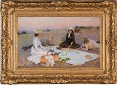Picnic Supper on the Sand Dunes